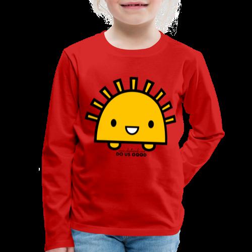 SUNNY - Lasten premium pitkähihainen t-paita