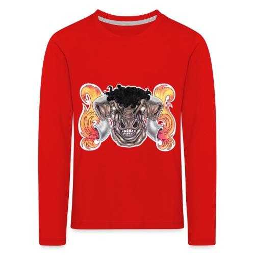Taurus The Bull God - Kids' Premium Longsleeve Shirt