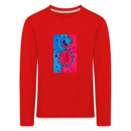 Born - Lasten premium pitkähihainen t-paita