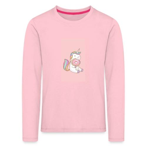 CDA07762 B3C8 4603 9F94 D14B2061B66B - Maglietta Premium a manica lunga per bambini