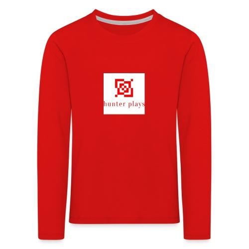 hunter plays - Kids' Premium Longsleeve Shirt