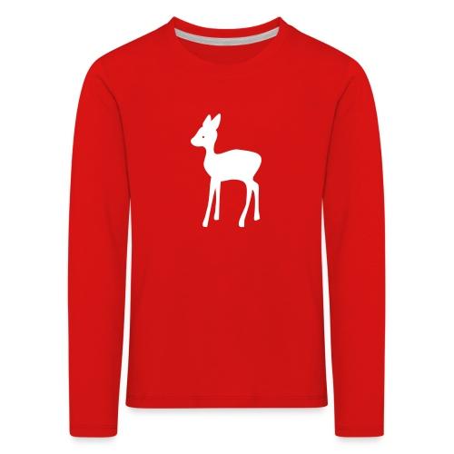Reh Kitz - Kinder Premium Langarmshirt