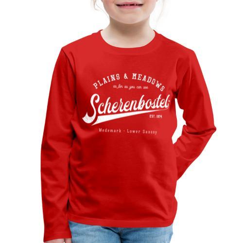 Scherenbostel Retrologo - Kinder Premium Langarmshirt