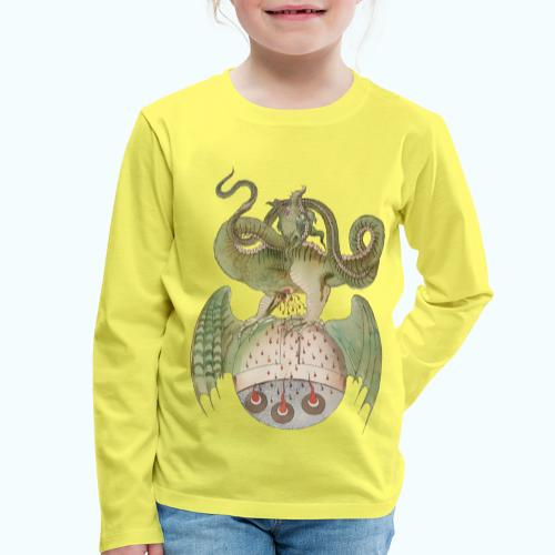 Middle Ages Dragon - Kids' Premium Longsleeve Shirt