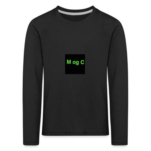 mogc - Børne premium T-shirt med lange ærmer