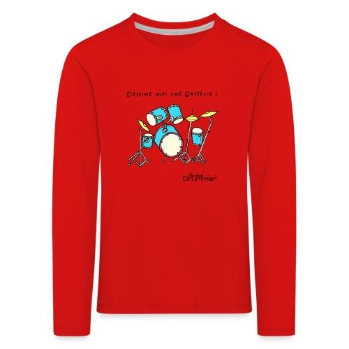 Luigi Drum - Kids' Premium Longsleeve Shirt