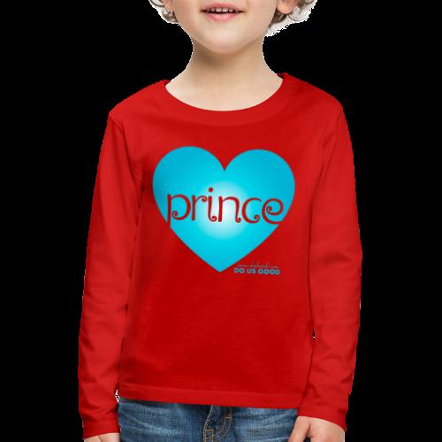 PRINCE - Lasten premium pitkähihainen t-paita
