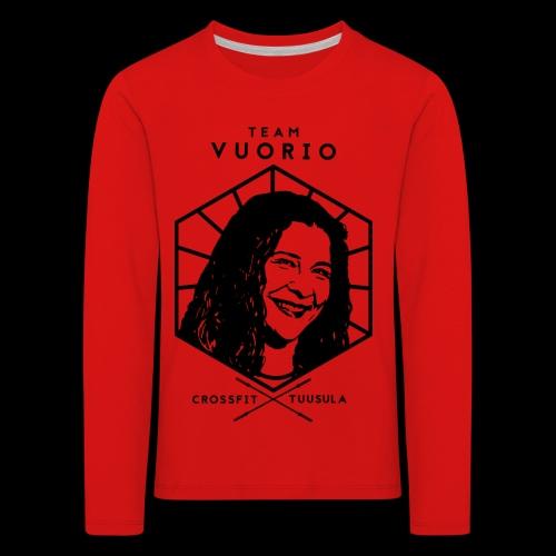 Vuorio WW 18 - Lasten premium pitkähihainen t-paita