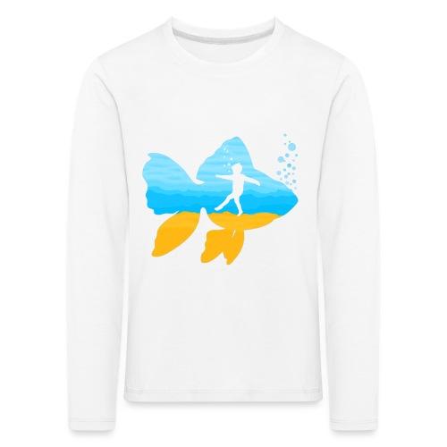 GEVOELIG VISJE - Kinderen Premium shirt met lange mouwen