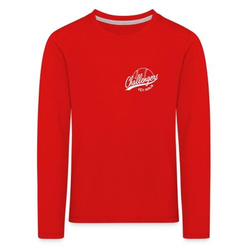 Challengers Logo - Kinder Premium Langarmshirt