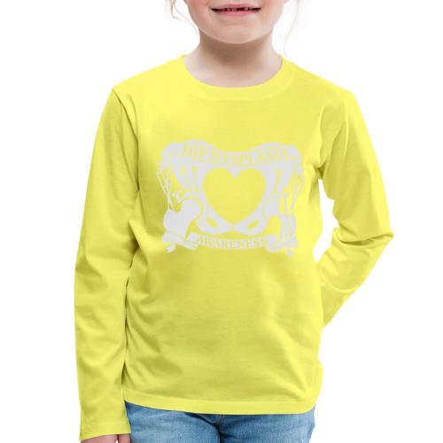 Hip Dysplasia Awareness - Kids' Premium Longsleeve Shirt