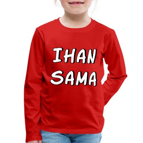 Ihan sama - Lasten premium pitkähihainen t-paita
