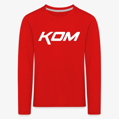 king of the mountain mtb - Kids' Premium Longsleeve Shirt