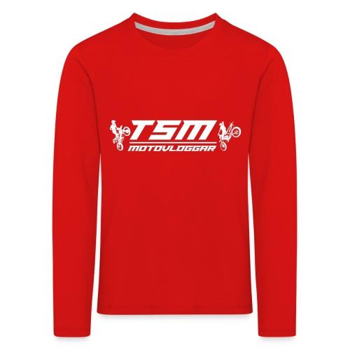 TSMSticker2017 transparant png - Långärmad premium-T-shirt barn
