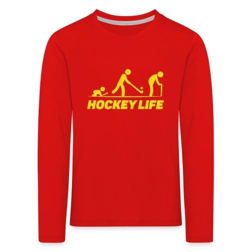 Hockey Life - T-shirt manches longues Premium Enfant