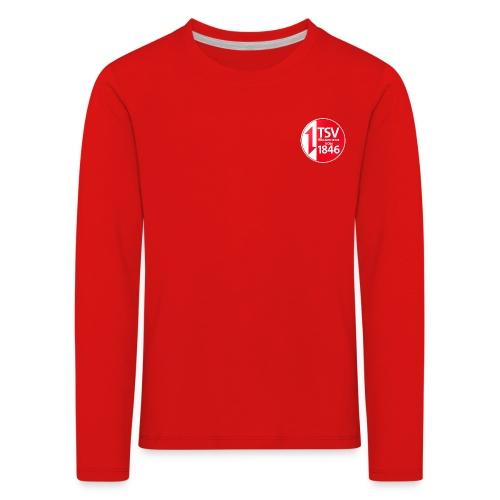 Rand um Logo - Kinder Premium Langarmshirt