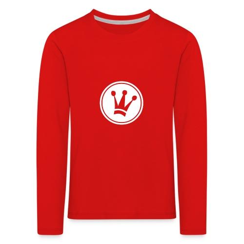 Couronne Blanche - T-shirt manches longues Premium Enfant