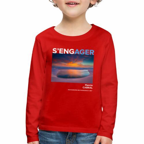 1 Achat = 1 Don Fondation Yann Arthus-Bertrand - T-shirt manches longues Premium Enfant