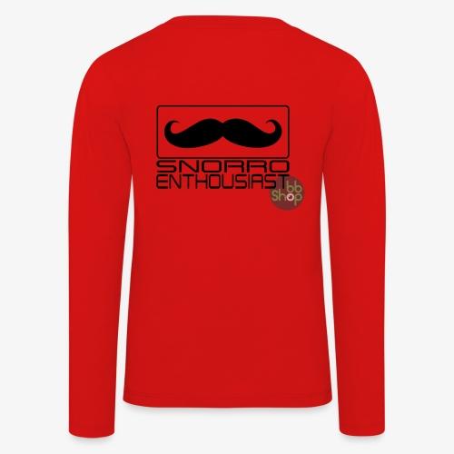 Snorro enthusiastic (black) - Kids' Premium Longsleeve Shirt