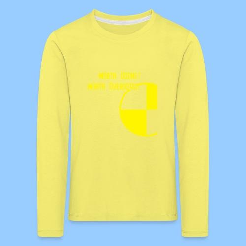 Anything Worth Doing, Light on Dark - Kids' Premium Longsleeve Shirt