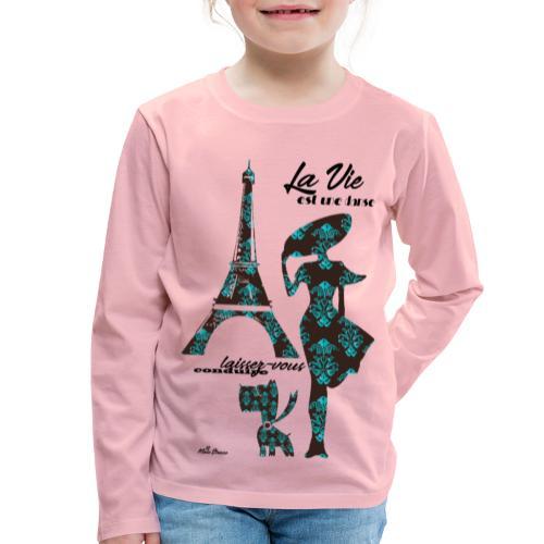 La Vie est une danse - Maglietta Premium a manica lunga per bambini