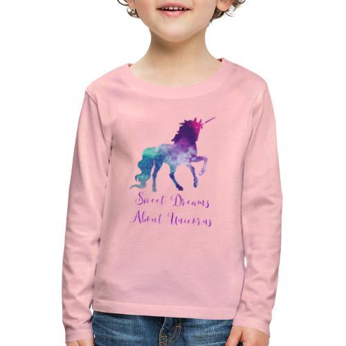 Unicorn Dream Shirt - Kinderen Premium shirt met lange mouwen