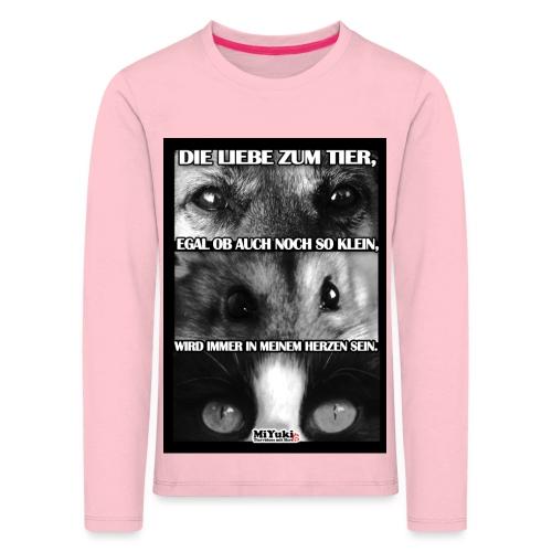 spruch jpg - Kinder Premium Langarmshirt
