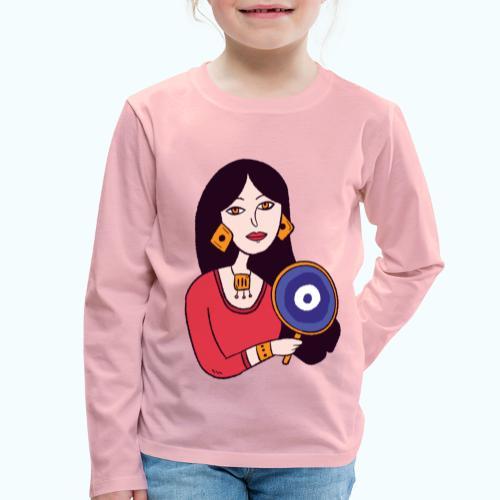 Fashion Girl - Kids' Premium Longsleeve Shirt