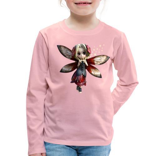 Red Fairy - Kinder Premium Langarmshirt