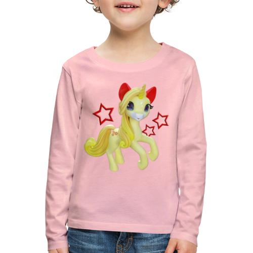 Einhorn in Fairyland - Kinder Premium Langarmshirt