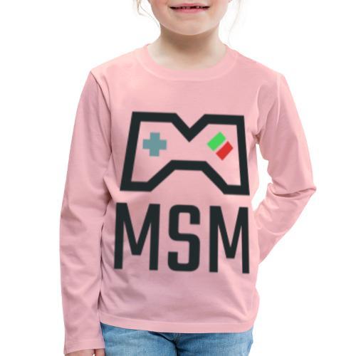 MSM GAMING CONTROLLER - Børne premium T-shirt med lange ærmer
