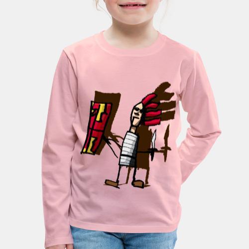 Romano color pantone - Camiseta de manga larga premium niño