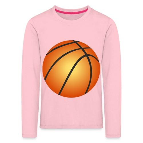 Basketball (2) - Kinderen Premium shirt met lange mouwen