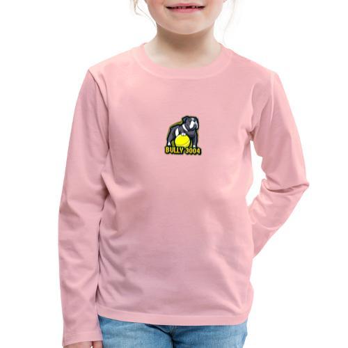 Logo Bully3004 - Kinder Premium Langarmshirt