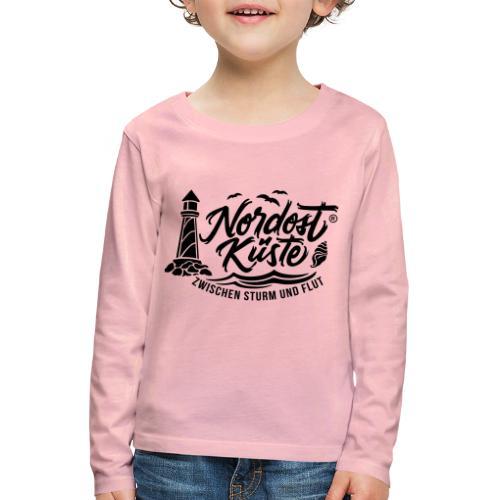 Nordost Küste Logo #6 - Kinder Premium Langarmshirt