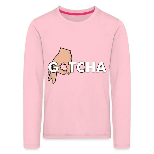 Gotcha Made You Look Funny Finger Circle Hand Game - Kids' Premium Longsleeve Shirt
