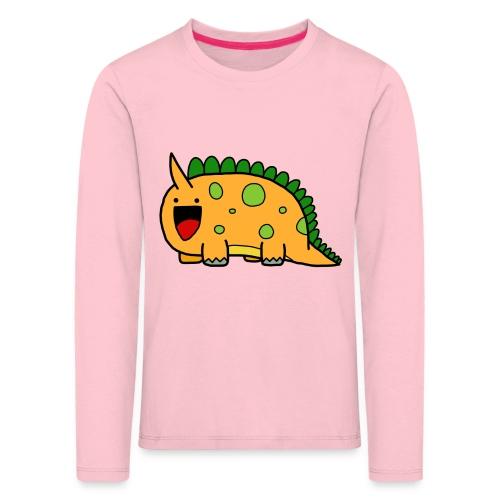 cute-dinosaur-clipart-panda-free-clipart-images-Yj - Maglietta Premium a manica lunga per bambini
