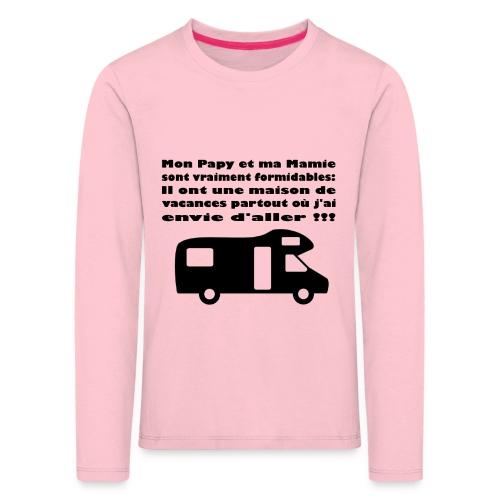 Papy et Mamie - T-shirt manches longues Premium Enfant