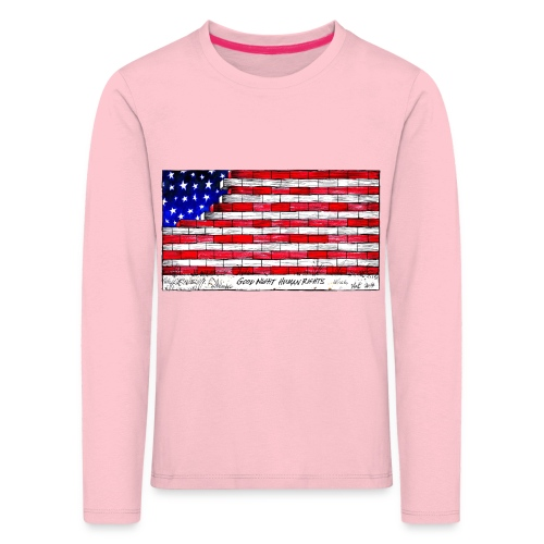 Good Night Human Rights - Kids' Premium Longsleeve Shirt