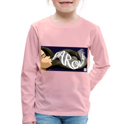 Parole - Maglietta Premium a manica lunga per bambini