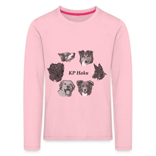 Tintti - Lasten premium pitkähihainen t-paita
