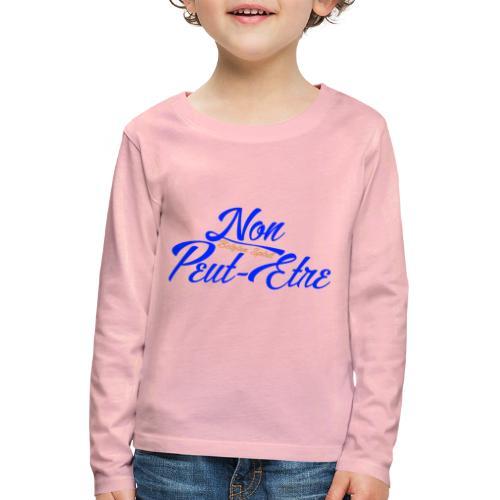 BELGIAN-NONPEUTETRE - T-shirt manches longues Premium Enfant