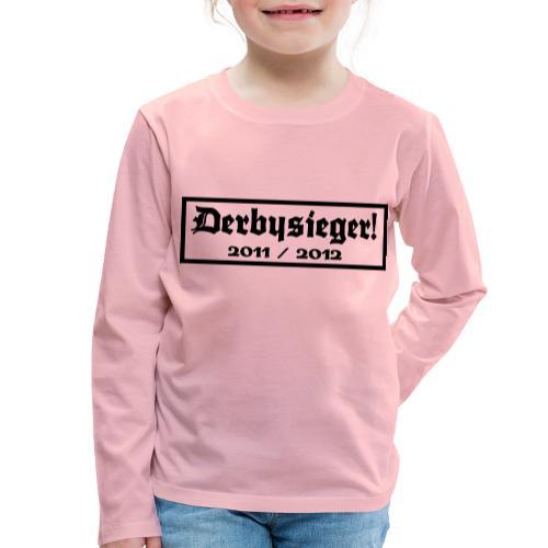 Derbysieger 2012 - Kinder Premium Langarmshirt