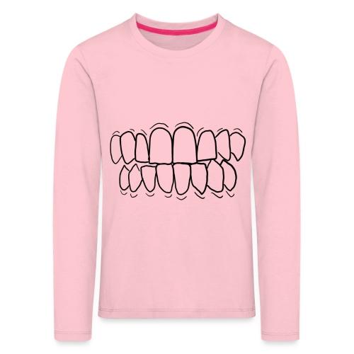 TEETH! - Kids' Premium Longsleeve Shirt
