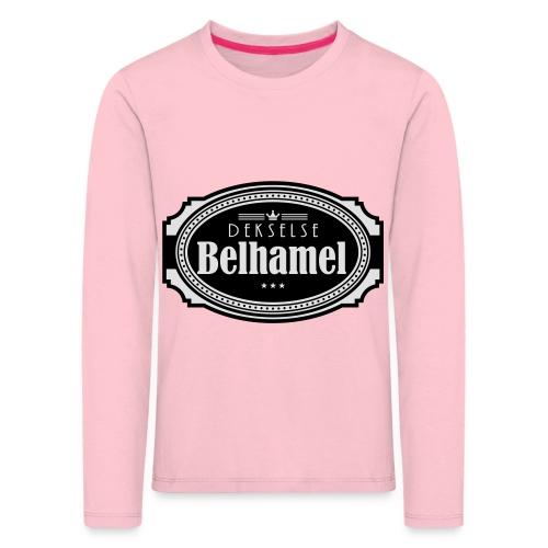 Dekselse belhamel - Kinderen Premium shirt met lange mouwen