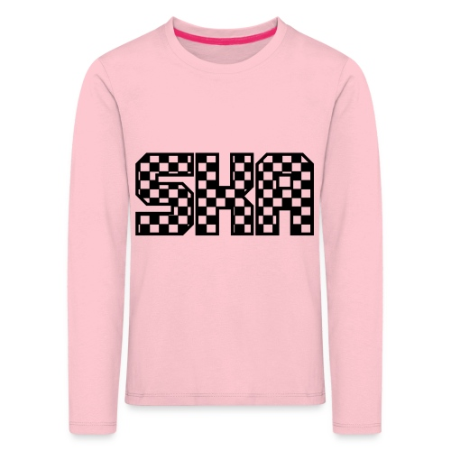 ska_in_blokjes - Kids' Premium Longsleeve Shirt