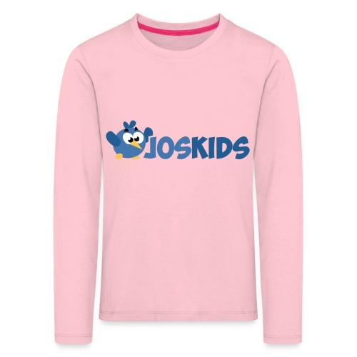 Logo JosKids 2 - Maglietta Premium a manica lunga per bambini