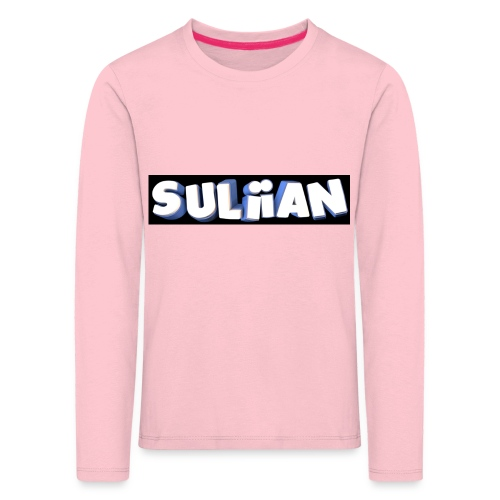 Suliian -Schrift 1 - Kinder Premium Langarmshirt