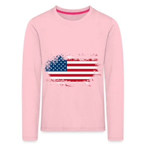 America - Kinderen Premium shirt met lange mouwen