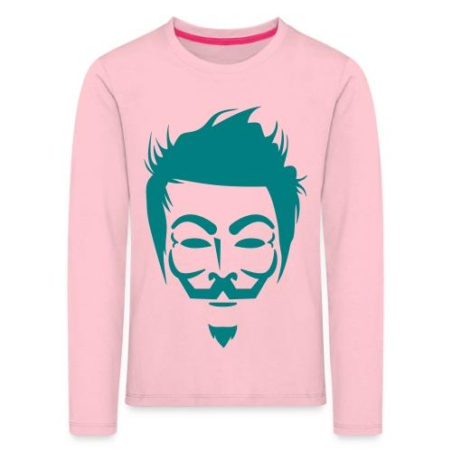 Anonymous Hipster - T-shirt manches longues Premium Enfant